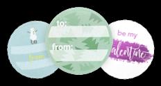 Stickers met eigen logo/artwork
