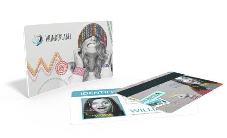 Plastic kaarten