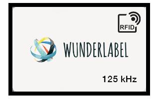 RFID 125kHz plastic kaart
