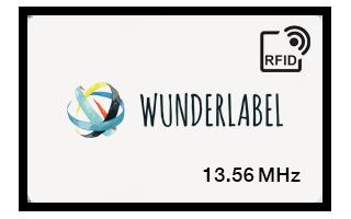 RFID 13.56 MHz plastic kaart