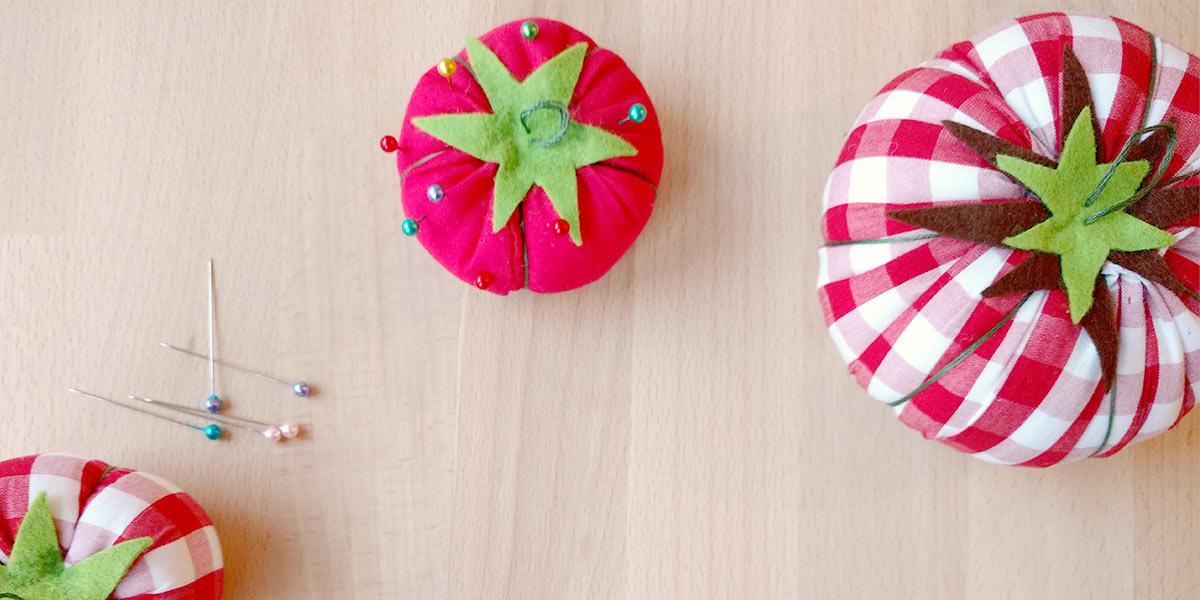 DIY een tomaten speldenkussentje