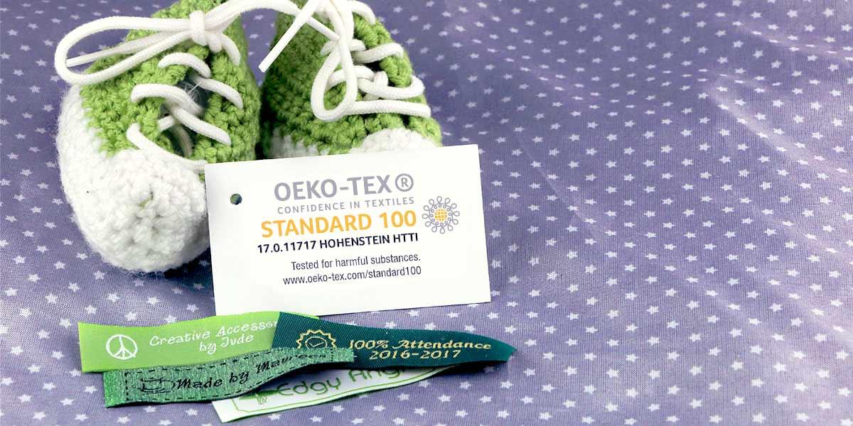 Wunderlabel heeft het OEKO-TEX® Standaard 100 certificaat