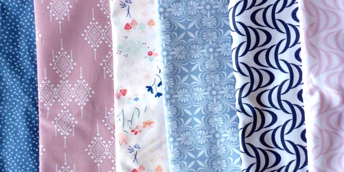 Hoe maak ik een quilt-kussen: stap 1: stof