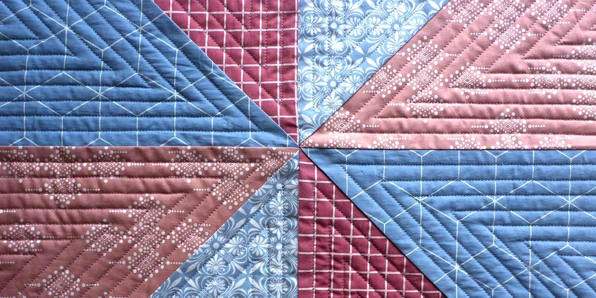 Hoe maak ik een quilt-kussen: stap 4: quilten