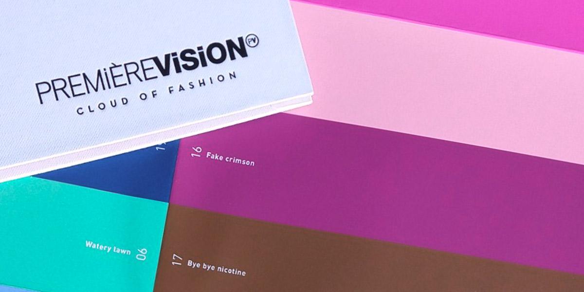 Première Vision -  Kleurentrends voor lente/zomer 2020