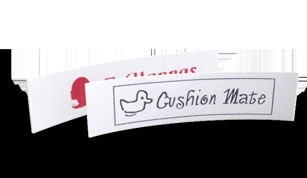 Bedrukte labels - tekst & symbool
