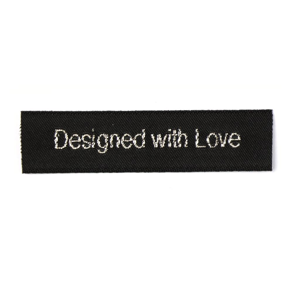Geweven Labels - Designed with Love
