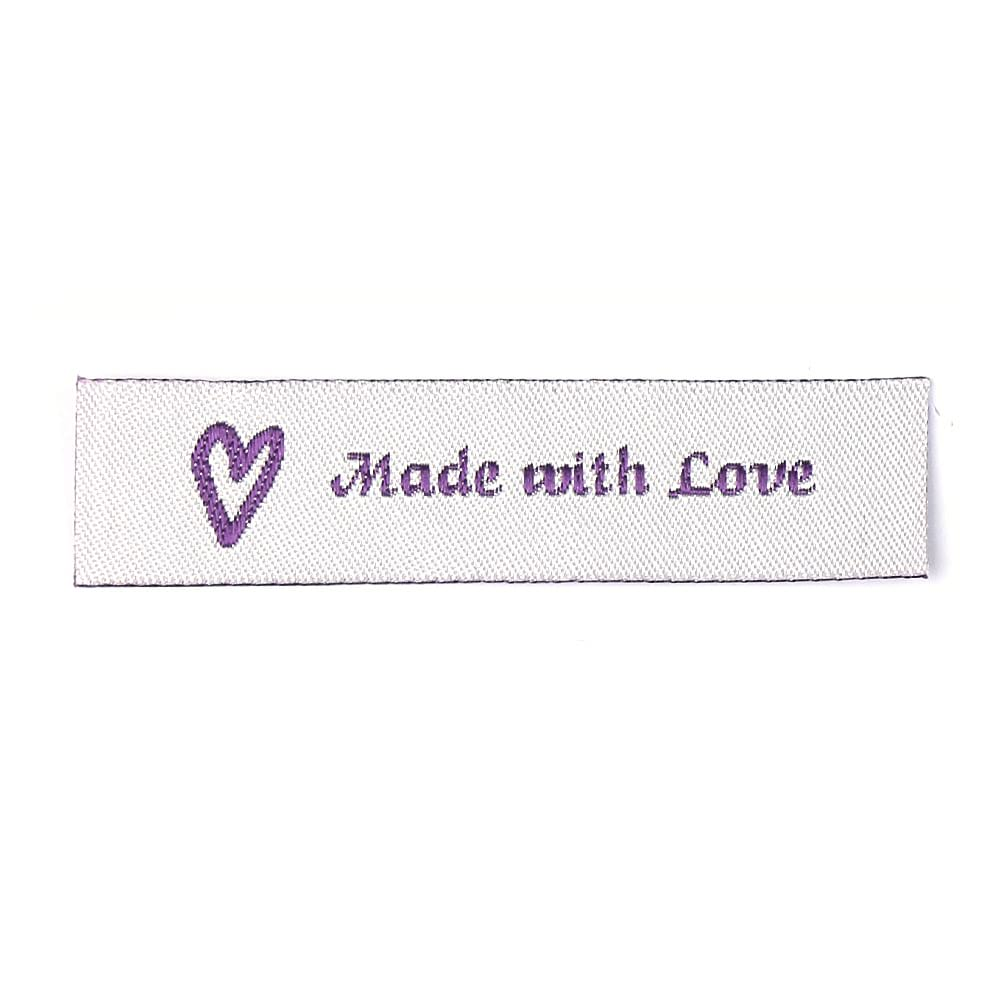 Geweven Labels - Made with Love