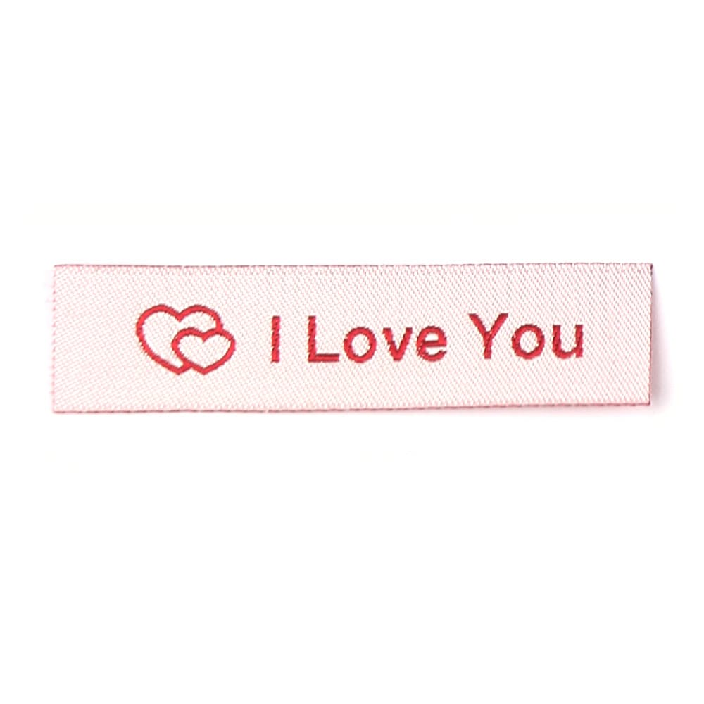 Geweven Labels - I Love You
