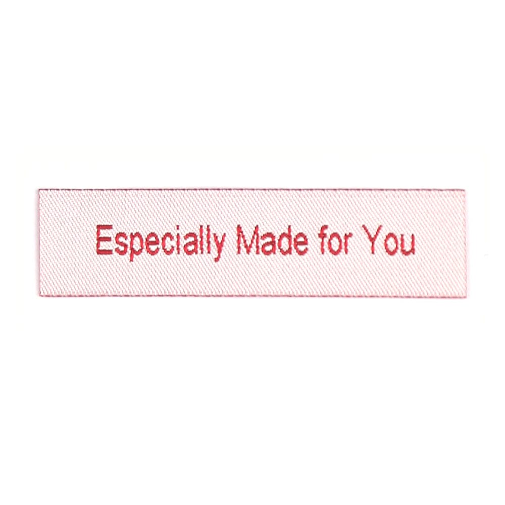 Geweven Labels - Especially Made for You