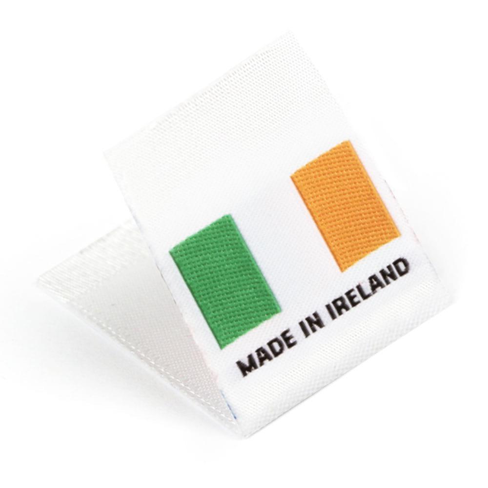 Geweven Labels vlag 'Made in Ireland'